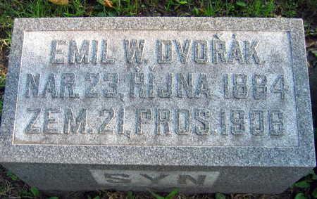 DVORAK, EMIL W. - Linn County, Iowa | EMIL W. DVORAK