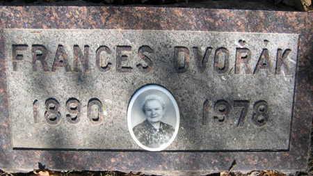 DVORAK, FRANCES - Linn County, Iowa   FRANCES DVORAK