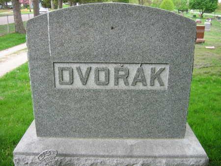 DVORAK, FAMILY STONE - Linn County, Iowa   FAMILY STONE DVORAK