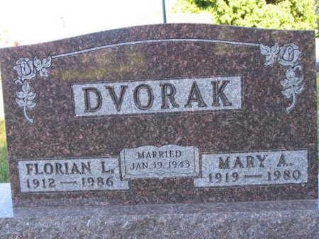 DVORAK, MARY A. - Linn County, Iowa   MARY A. DVORAK