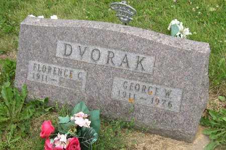 DVORAK, GEORGE W. - Linn County, Iowa   GEORGE W. DVORAK