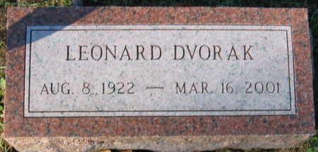 DVORAK, LEONARD - Linn County, Iowa | LEONARD DVORAK