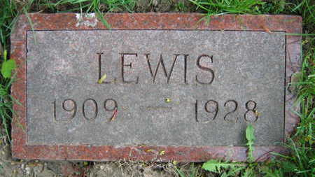 DVORAK, LEWIS - Linn County, Iowa   LEWIS DVORAK