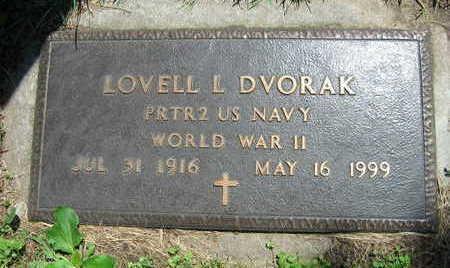 DVORAK, LOWELL L. - Linn County, Iowa   LOWELL L. DVORAK