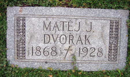 DVORAK, MATEJ J. - Linn County, Iowa   MATEJ J. DVORAK