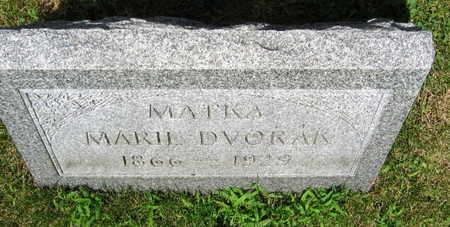 DVORAK, MARIE - Linn County, Iowa | MARIE DVORAK