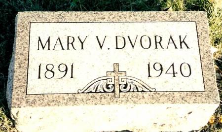 SLACH DVORAK, MARY V. - Linn County, Iowa   MARY V. SLACH DVORAK