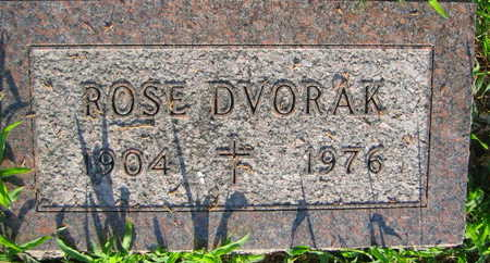 DVORAK, ROSE - Linn County, Iowa   ROSE DVORAK