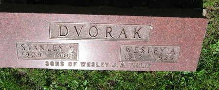 DVORAK, WESLEY A. - Linn County, Iowa | WESLEY A. DVORAK