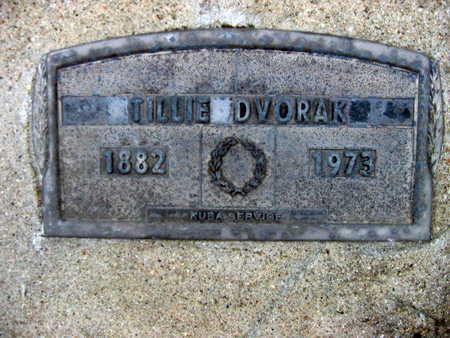 DVORAK, TILLIE - Linn County, Iowa | TILLIE DVORAK