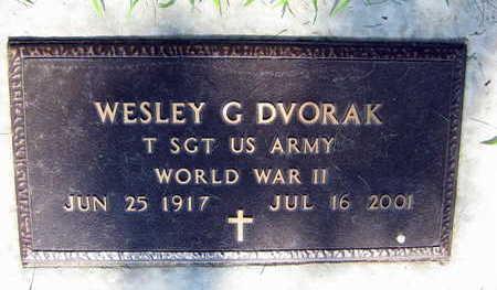DVORAK, WENCIL G. - Linn County, Iowa | WENCIL G. DVORAK
