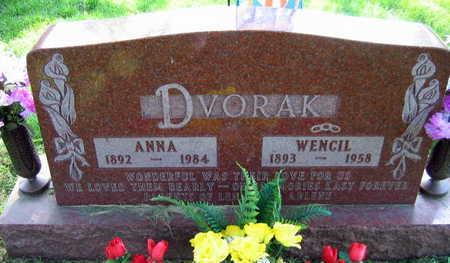DVORAK, WENCIL - Linn County, Iowa | WENCIL DVORAK