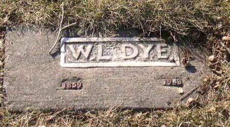 DYE, W. L. - Linn County, Iowa | W. L. DYE