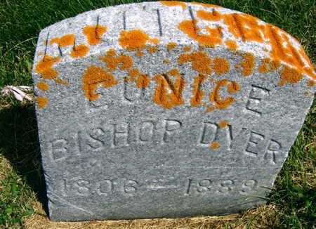 BISHOP DYER, EUNICE - Linn County, Iowa | EUNICE BISHOP DYER