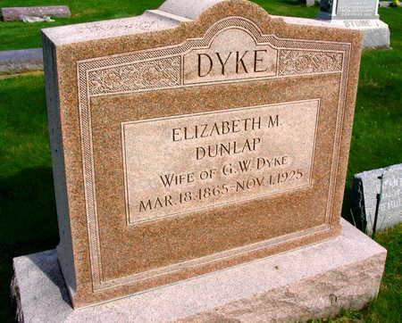 DUNLAP DYKE, ELIZABETH M. - Linn County, Iowa | ELIZABETH M. DUNLAP DYKE