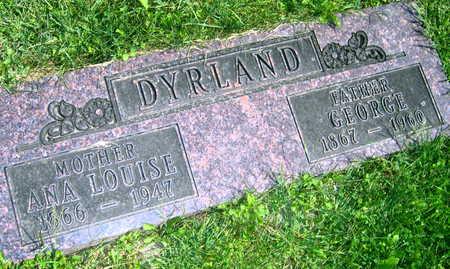 DYRLAND, GEORGE - Linn County, Iowa | GEORGE DYRLAND