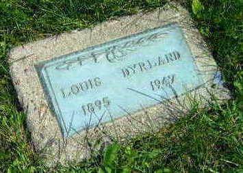 DYRLAND, LOUIS - Linn County, Iowa   LOUIS DYRLAND