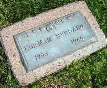 DYRLAND, NORMAN - Linn County, Iowa   NORMAN DYRLAND