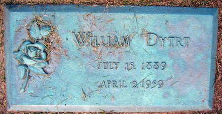 DYTRT, WILLIAM - Linn County, Iowa   WILLIAM DYTRT