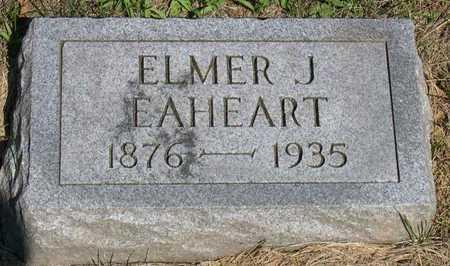 EAHEART, ELMER J. - Linn County, Iowa | ELMER J. EAHEART