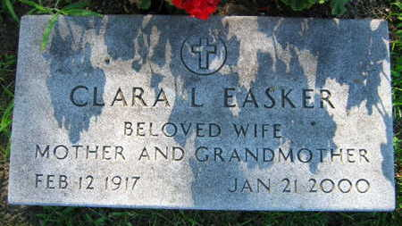 EASKER, CLARA L. - Linn County, Iowa | CLARA L. EASKER
