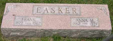 EASKER, FRANK - Linn County, Iowa | FRANK EASKER