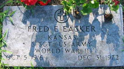 EASKER, FRED E. - Linn County, Iowa   FRED E. EASKER