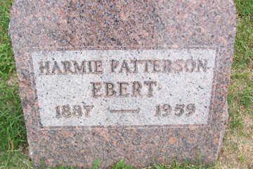 EBERT, HARMIE - Linn County, Iowa   HARMIE EBERT