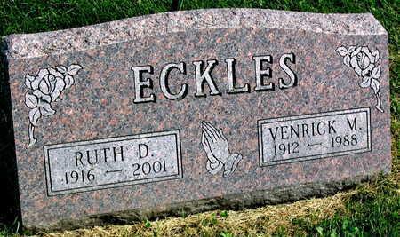 ECKLES, VENRICK M. - Linn County, Iowa | VENRICK M. ECKLES