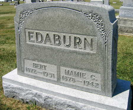 EDABURN, MAMIE C. - Linn County, Iowa | MAMIE C. EDABURN