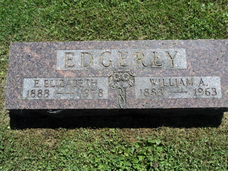 EDGERLY, E. ELIZABETH - Linn County, Iowa | E. ELIZABETH EDGERLY