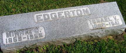 EDGERTON, ISRAEL V. - Linn County, Iowa | ISRAEL V. EDGERTON