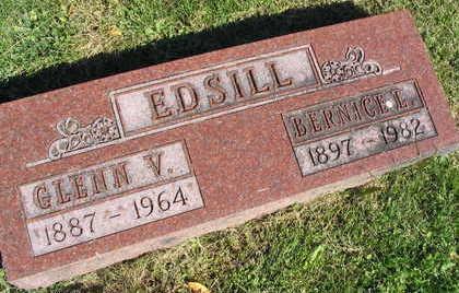 EDSILL, GLENN V. - Linn County, Iowa | GLENN V. EDSILL