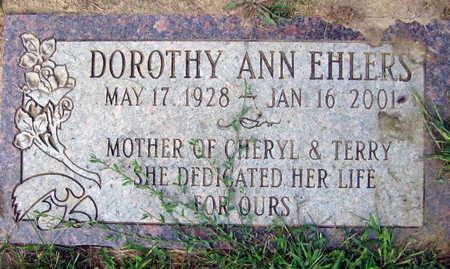 EHLERS, DOROTHY ANN - Linn County, Iowa | DOROTHY ANN EHLERS