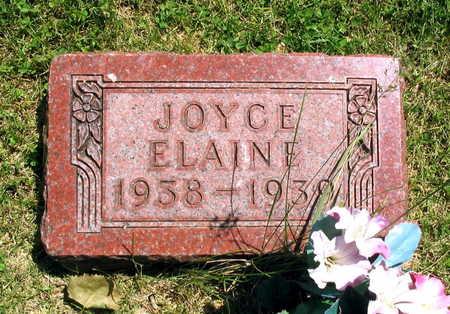 ELAINE, JOYCE - Linn County, Iowa | JOYCE ELAINE