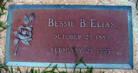 ELIAS, BESSIE B. - Linn County, Iowa | BESSIE B. ELIAS