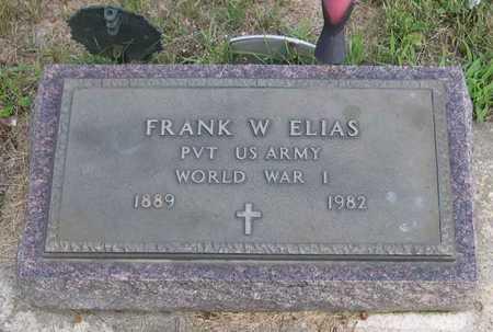 ELIAS, FRANK W. - Linn County, Iowa | FRANK W. ELIAS