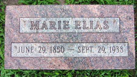 ELIAS, MARIE - Linn County, Iowa   MARIE ELIAS