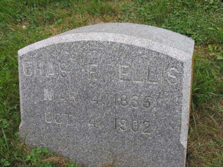 ELLIS, CHAS. F - Linn County, Iowa   CHAS. F ELLIS