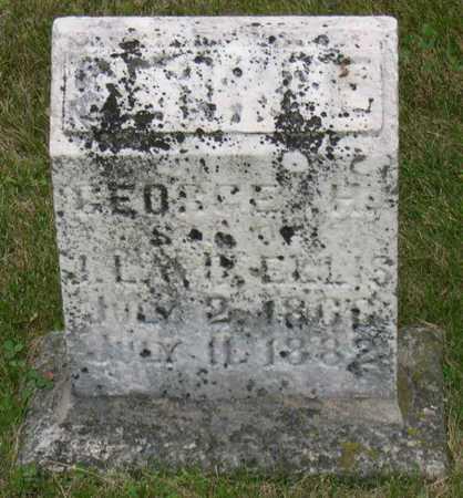 ELLIS, GEORGE H. - Linn County, Iowa   GEORGE H. ELLIS