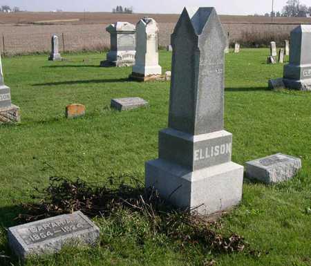 ELLISON, FAMILY STONE - Linn County, Iowa | FAMILY STONE ELLISON