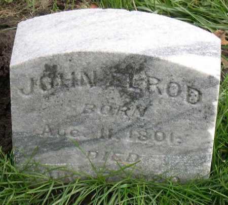 ELROD, JOHN - Linn County, Iowa | JOHN ELROD