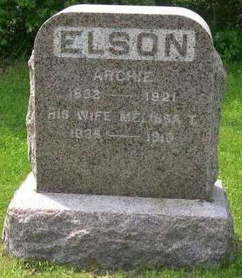 ELSON, ARCHIE - Linn County, Iowa | ARCHIE ELSON