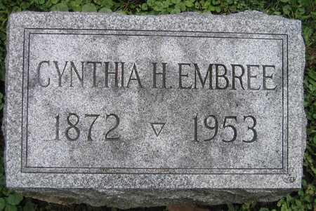 EMBREE, CYNTHIA H. - Linn County, Iowa   CYNTHIA H. EMBREE