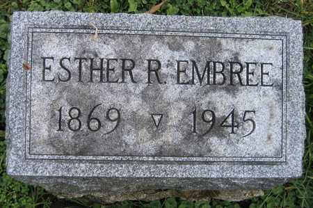 EMBREE, ESTHER R. - Linn County, Iowa | ESTHER R. EMBREE