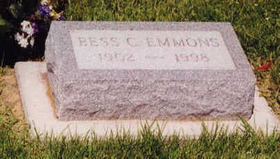 HOOVER EMMONS, BESS - Linn County, Iowa | BESS HOOVER EMMONS