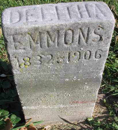 EMMONS, DELITHA - Linn County, Iowa | DELITHA EMMONS
