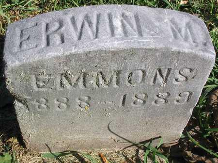 EMMONS, ERWIN M. - Linn County, Iowa | ERWIN M. EMMONS