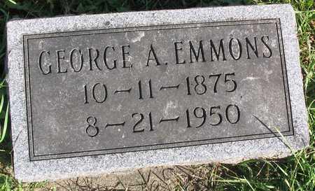 EMMONS, GEORGE A. - Linn County, Iowa | GEORGE A. EMMONS