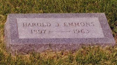 EMMONS, HAROLD - Linn County, Iowa | HAROLD EMMONS